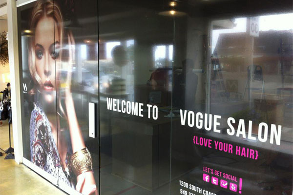 Vogue Salon Wall Graphic